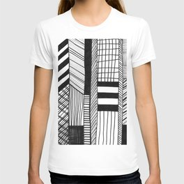 Mono Geo Lines T-shirt