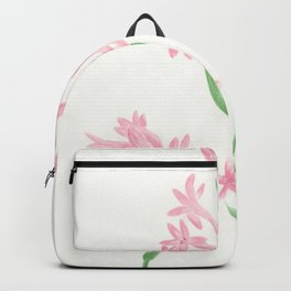 Pink Tuberose Backpack