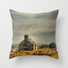 Is There Anyone at Home? Throw Pillow