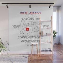 New Mexico Wall Mural