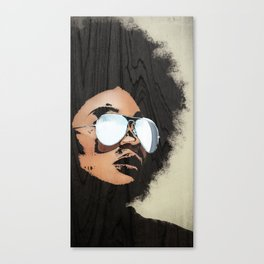 Venus Afro 02 Canvas Print