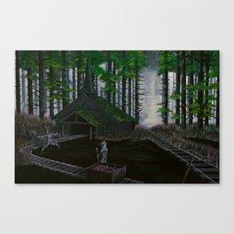 Cold Comfort Canvas Print