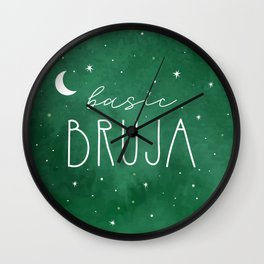 Basic Bruja Wall Clock