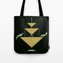 Stuttgart art expo: feed the birds Tote Bag