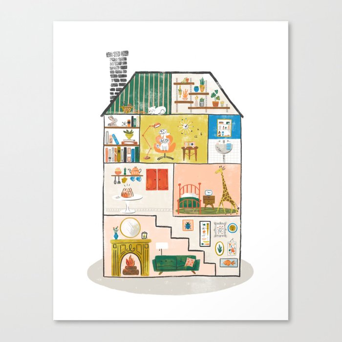 Doll House Canvas Print