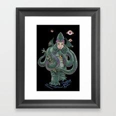 The Octopus Framed Art Print