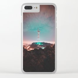 San Francisco : Sutro Tower Clear iPhone Case