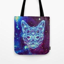Galactic Kitten Tote Bag
