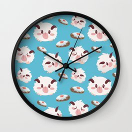 Poros and Cookies Wall Clock