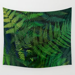 Forest fern Wall Tapestry