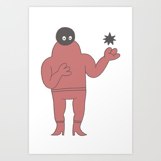 star vibes Art Print