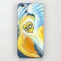 good omens iPhone & iPod Skins featuring Good Omens: Aziraphale (True Form) by Katerina Romanova