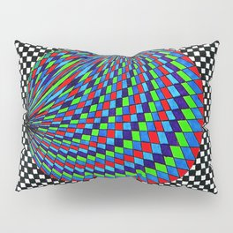 Colourful Circle Pillow Sham