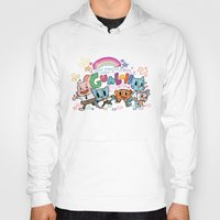 gumball Hoodies featuring GUMBALL by Suyeda