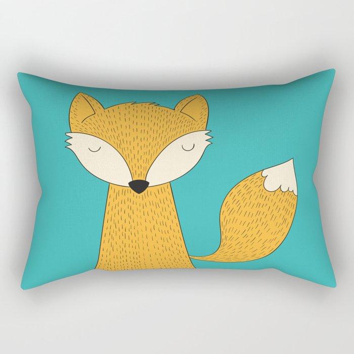 The Fox is back Rectangular Pillow
