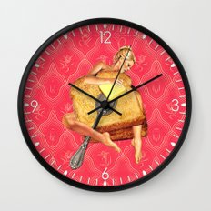 Toasted Wall Clock