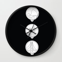 Cities to Love Wall Clock