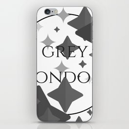 Grey London iPhone Skin