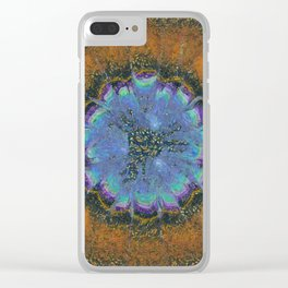 Commits Fancy Flower  ID:16165-142359-28270 Clear iPhone Case