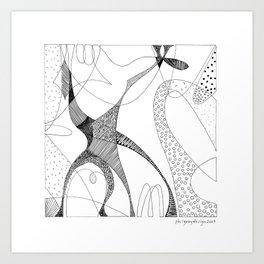 animorph 03 - giraffe Art Print