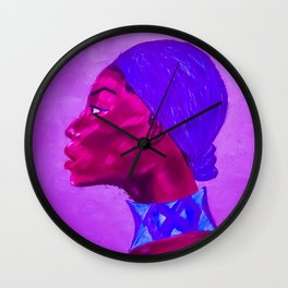 Wrapped Wall Clock