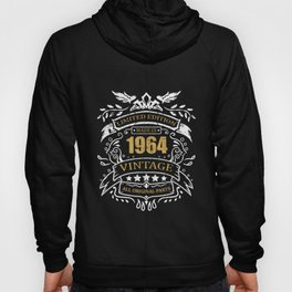Vintage Limited Edition Made In 1964 Birthday Gift Hoody