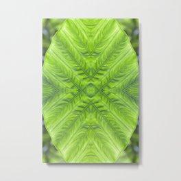 Green Shield Metal Print