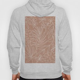 Engraved Tropical Line Hoody