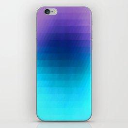 Sunset gradient pixels iPhone Skin