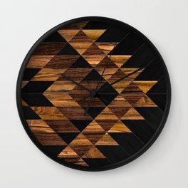 Urban Tribal Pattern 11 - Aztec - Wood Wall Clock