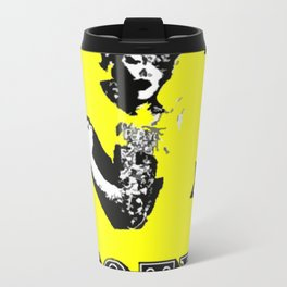 VOTE EQUALITY - BY C.D. KIRVEN Metal Travel Mug