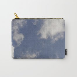 Blue sky and clouds Carry-All Pouch