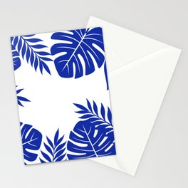 Paradise in cobalt Stationery Cards