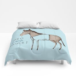 Well Cool Mule! Comforters