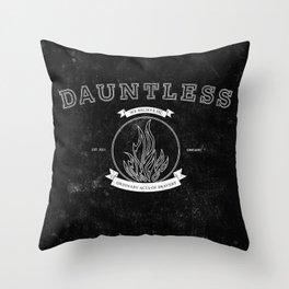 Dauntless Varsity Throw Pillow