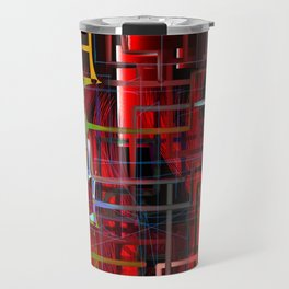 red installation Travel Mug