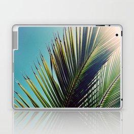 Sunny Palm Tree Laptop & iPad Skin