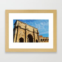 Rome - The Arch of Constantine Framed Art Print