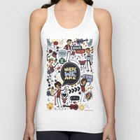 cargline Tank Tops featuring WWA Poster by cargdoodles