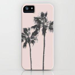 Beach palm 2 iPhone Case