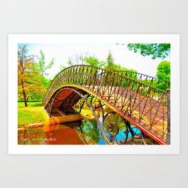 Wonka Bridge Art Print