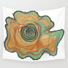 Tree Stump Series 3 - Illustration Wall Tapestry