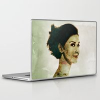 concrete Laptop & iPad Skins featuring Concrete Butterflies by ARJr