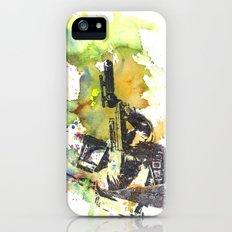 Boba Fett Firing off Green Color iPhone (5, 5s) Slim Case