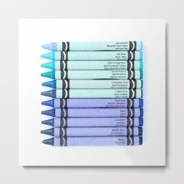 Color me BLUE Metal Print