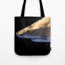 Lemon Shark Backdrop Tote Bag