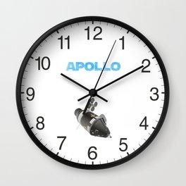 Apollo Spacecraft Wall Clock