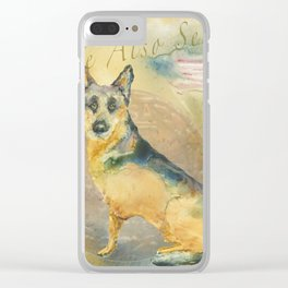 We Also Serve Clear iPhone Case