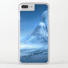 Frozen Giant Clear iPhone Case