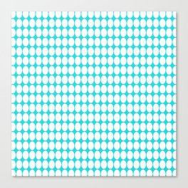 vanille bluey green Canvas Print